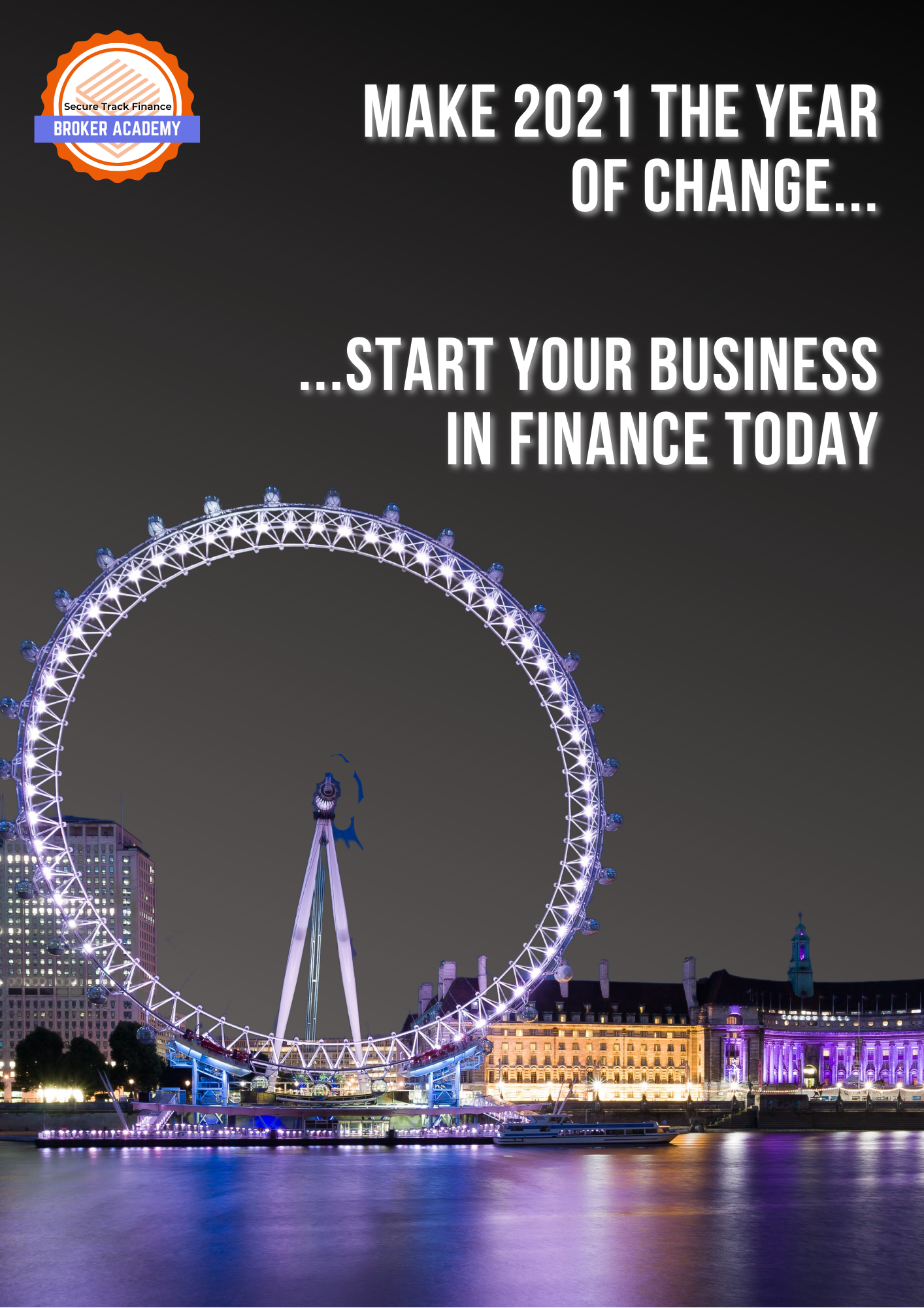 Start your business in finance in 2021